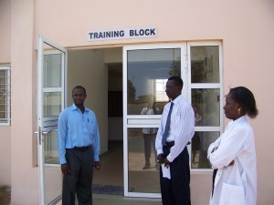 Traing block in Sheik Zayed Regional Eye Care Centre