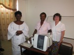 Presentation of ultrasound scanner